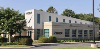 Associés financiers de sommet construisant Nashville, TN Photo stock