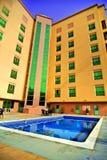 Associação ao ar livre do hotel fotografia de stock royalty free