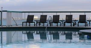Associação bonita do hotel em Miami Beach video estoque