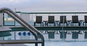 Associação bonita do hotel em Miami Beach vídeos de arquivo