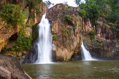 Associação bonita e fundida da cachoeira Foto de Stock Royalty Free