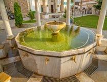Associação da ablução em Fatih Mosque, Pristina foto de stock royalty free