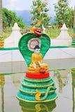 Associação da Buda do pagode de Bawrithat, Nyaungshwe, Myanmar Imagens de Stock