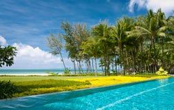 Associação da infinidade em uma praia Foto de Stock Royalty Free