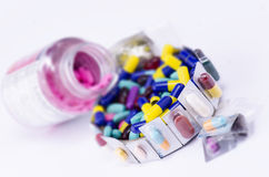 Associação das medicinas Fotografia de Stock Royalty Free