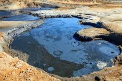 Associação de ebulição da lama Fotografia de Stock Royalty Free