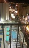 Associação do telhado do motel da plaza Fotos de Stock Royalty Free