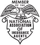Associação nacional do seguro ilustração stock