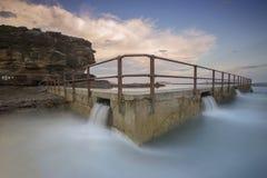 Associação norte da rocha da onda da onda Fotografia de Stock