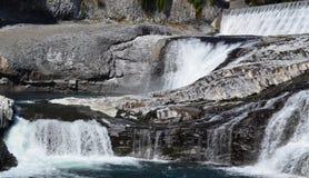 Associações e cachoeiras Imagens de Stock