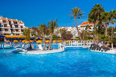 Associação de água no console de Tenerife Foto de Stock