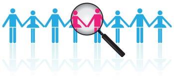 Associate Search Stock Image