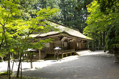 Associated old building of Mount Kōya temple Royalty Free Stock Image