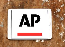 Associated Press , AP , logo. Logo of Associated Press , AP , on samsung tablet. The Associated Press AP is a U.S. based not for profit news agency headquartered Royalty Free Stock Photos