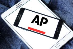 Associated Press, AP, logotipo Imagem de Stock Royalty Free