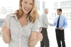 Association d'affaires de cadres d'entreprise photo stock