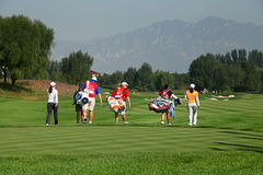 Association de golf professionnel de dames Photos stock