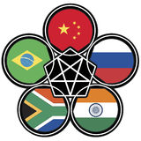Brics symbol Stock Photography