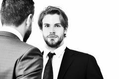 Association et affaires, amitié et respect, travail d'équipe Image stock