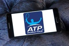 Association of Tennis Professionals, ATP logo. Logo of Association of Tennis Professionals, ATP on samsung mobile Royalty Free Stock Image