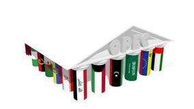 Associazione dell'OPEC Fotografie Stock Libere da Diritti