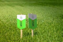 Assorbimento del Monsanto di Bayer Fotografia Stock