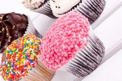 Assorment de gâteaux Images libres de droits