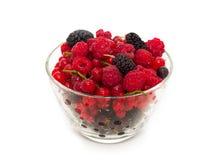 Assort of fresh berries Stock Photo