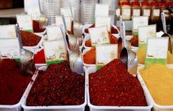 Assorted香料的不同的类型 免版税库存照片