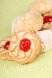 Assorted almond pastries Royalty Free Stock Photography