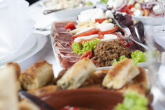 Assorted appetizers Royalty Free Stock Photo