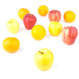 Assorted apples & oranges Royalty Free Stock Photo