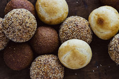 Assorted Artisan Bread Rolls Royalty Free Stock Image