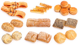 Assorted baked products Royalty Free Stock Photography