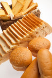 Assorted bakery breads Stock Image