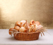 Assorted bakery products Stock Photo