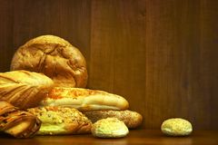 Assorted bakery Stock Image