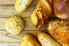 Assorted bakery Stock Photography