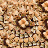 Assorted baklava Stock Images