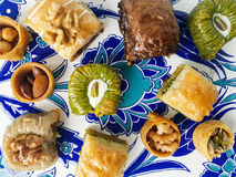 Assorted baklava desserts Royalty Free Stock Photography
