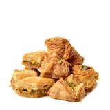 Assorted baklava pastries Stock Images