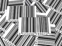 Assorted bar codes Stock Photography