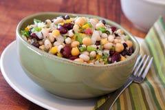 Assorted Bean Salad Royalty Free Stock Photos