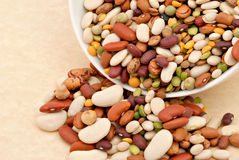 Assorted Beans Royalty Free Stock Photo