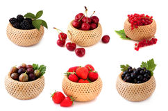 Assorted berries Royalty Free Stock Image