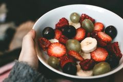 Assorted Berries on Bowl Royalty Free Stock Photography