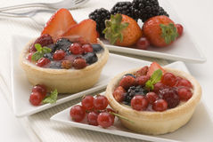 Assorted berries pie. Stock Photography
