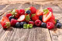 Assorted berry fruit Royalty Free Stock Photos