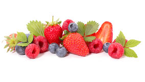 Assorted berry fruit Royalty Free Stock Images