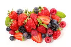 Assorted berry fruit Royalty Free Stock Photography